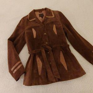 JOHN CARLISLE ·Vintage Lightweight Suede Jacket ·